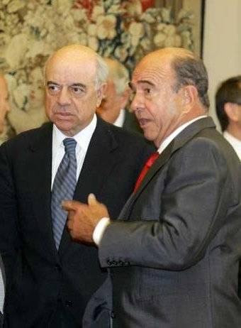 Francisco Gonzalez y Emilio Botín