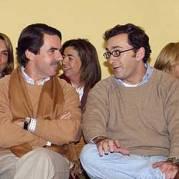 Alejandro Agag con José María Aznar