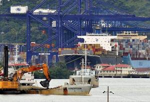 Obras canal de Panamá por Sacyr