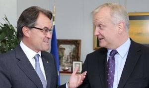 Artur Mas y Oliu Rehn, comisario europeo