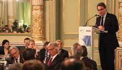 Conferencia de Artur Mas