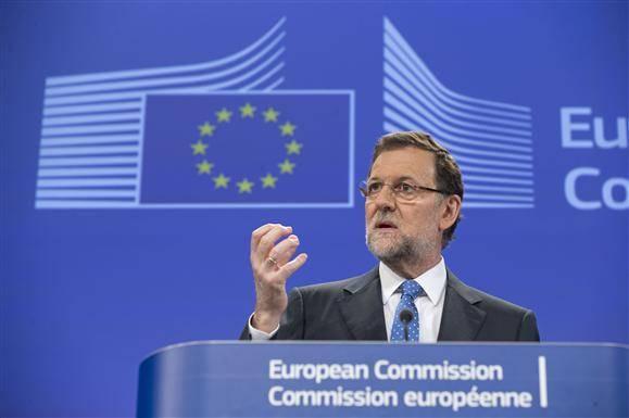 Mariano Rajoy en Bruselas