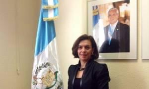Carla María Rodríguez Mancia, embajadora de Guatemala en España