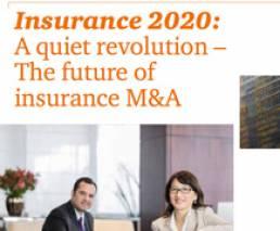 Insurance 2020: El futuro de las transacciones en el sector seguros