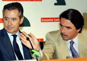José María Aznar y Miguel Blesa