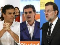 Rajoy y Sánchez cortejan a Rivera