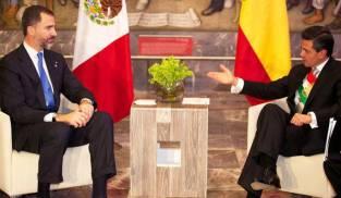 Felipe sexto en mexico