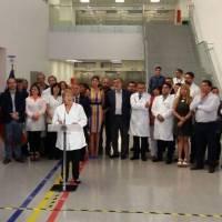 Michelle Ballelet inaugura el centro