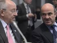 Luis de Guindos y Miguel Ángel Fernández Ordóñez