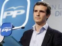 Pablo Casado, pte. del PP.