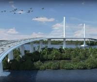 Puente de Sacyr en Colombia