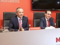 Fernando Mata y Antonio Huertas, Mapfre.
