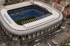 Estadio Santiago Bernabeu.