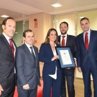 Banco Santander obtiene la certificación AENOR