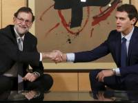 Rajoy y Rivera