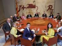 Nuevo gobierno autonómico en Cataluña.