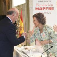 Fundación MAPFRE premia a Vicente del Bosque