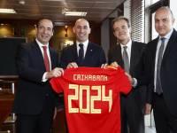 CaixaBank patrocina  la seleccion española futbol.