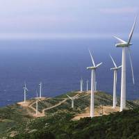 Parque eólico en Antia (Grecia) de Iberdrola