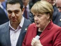 Merkel y Tsiripas.