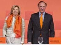 Guerrero y Dancausa en la junta de accionistas.