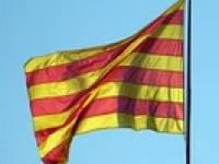 Bandera constitucional de Cataluña.