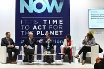 José Bogas, en el panel de la COP25.