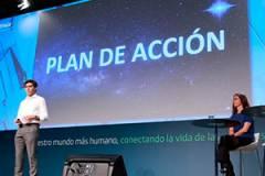 Álvarez.Pallete, en la presentación del plan de acción.