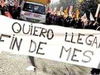 Protestas por bajos salarios