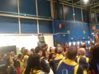 Chalecos amarillos en la COP25.