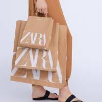 Bolsas de papel de Zara