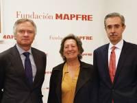 Ignacio Baeza, Manuel Aguilera, y Pilar González de Frutos.