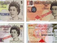 Moneda de Londres - Billetes y monedas de libra esterlina