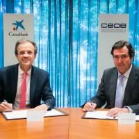 Caixabank y la CEOE