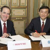 Acuerdo de Mapfre con China RE