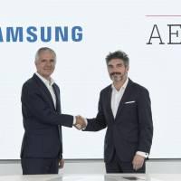 Samsung y AED
