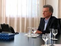 Mauricio Macri, pte. de Argentina.