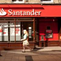 Santander's UK business sees slowdown | Business | The Guardian