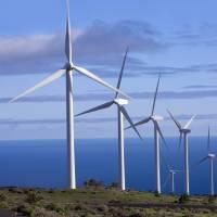 Parque eólico en Reino Unido