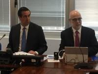 Bernardo Velázquez, presidente, y Andrés Barceló, director genera