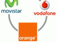 Movistar, Vodafone ...