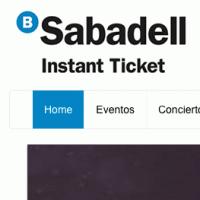 Sabadell Instan Ticket