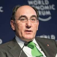 Ignacio Sánchez Galán en Davos.