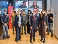 Rami Aboukhair con emprendedores Santander.