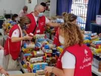 Voluntarios de Mapfre.