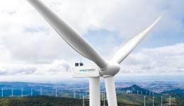 Un proyecto de energía eólica.