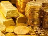 Oro y lingotes.