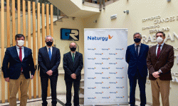 Firma de acuerdo Naturgy/Grupo Ruiz.