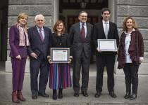 Entrega Premios Deusto-Santander.