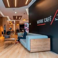 Work Café de Banco Santander